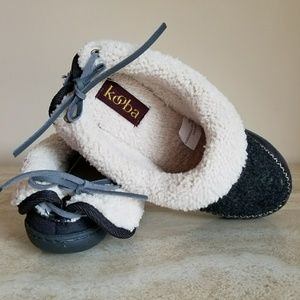 191226fc856 Kooba Shoes - Kooba Women s Slippers Black   White Size 6